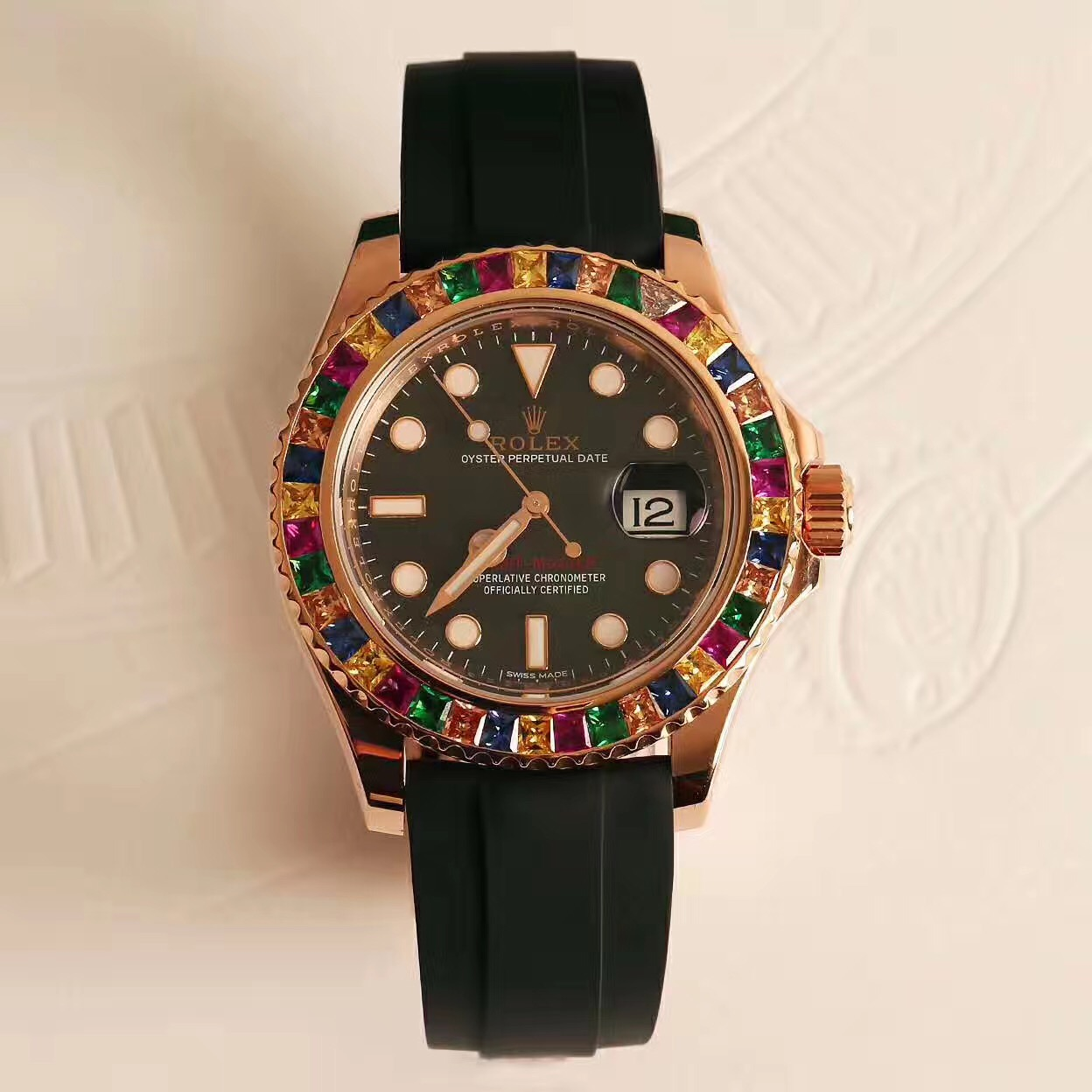 High Quality Yacht-Master 40 Candy Color Gem Bezel - FashionBeast
