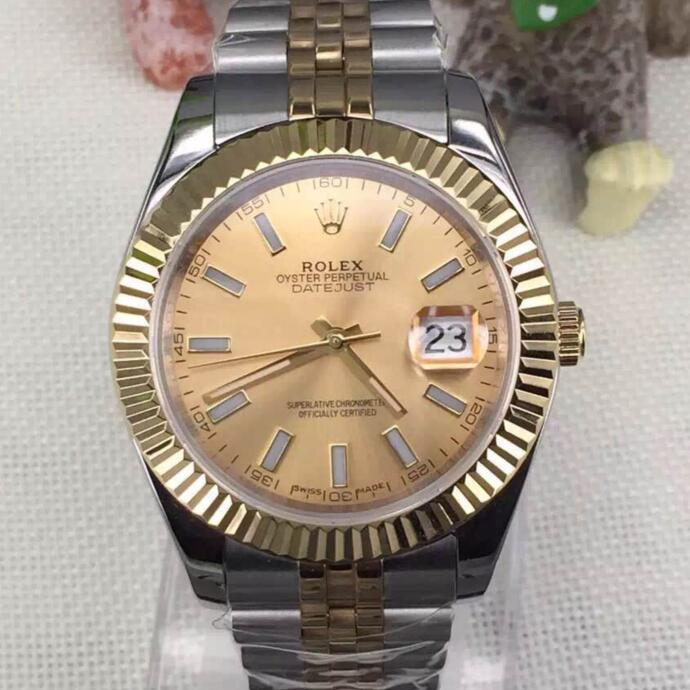High Quality Datejust Yellow Gold Jubilee Watch - FashionBeast