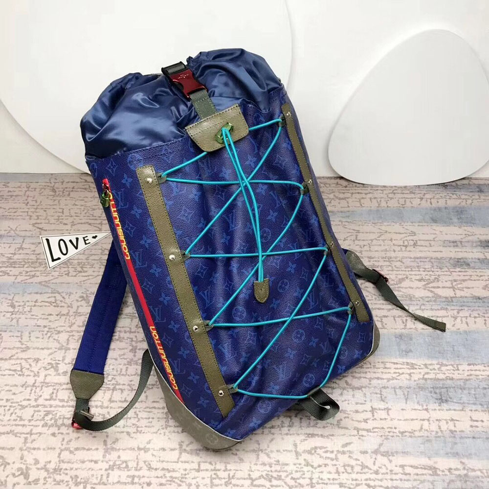Louis Vuitton Outdoor Backpack M43833 in Pacifique - FashionBeast