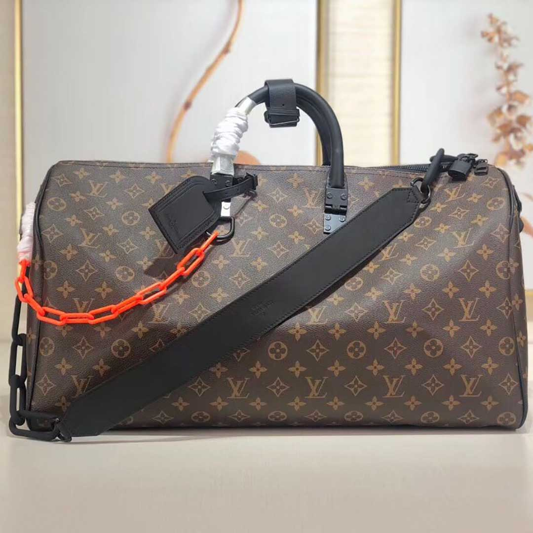 Louis Vuitton Monogram Keepall Bandouliere 50 Luggage  - FashionBeast