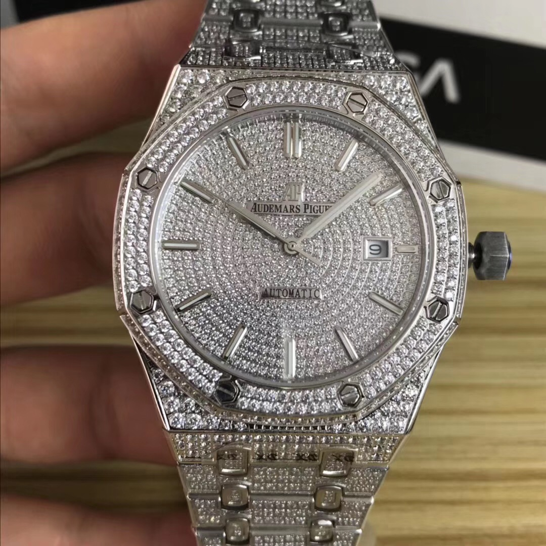 Audemars Piguet Watch in Silver - FashionBeast