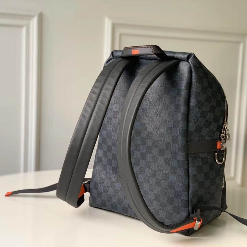 Damier Cobalt Race Discovery Backpack  - FashionBeast