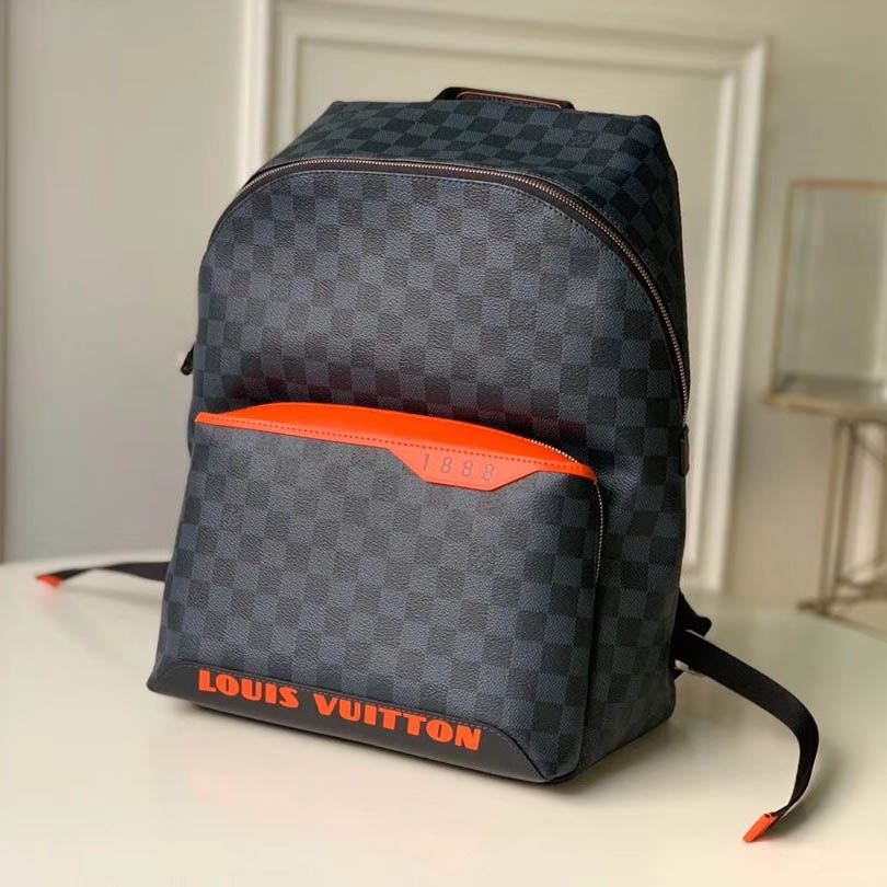 Louis Vuitton Damier Cobalt Race Discovery Backpack  - FashionBeast