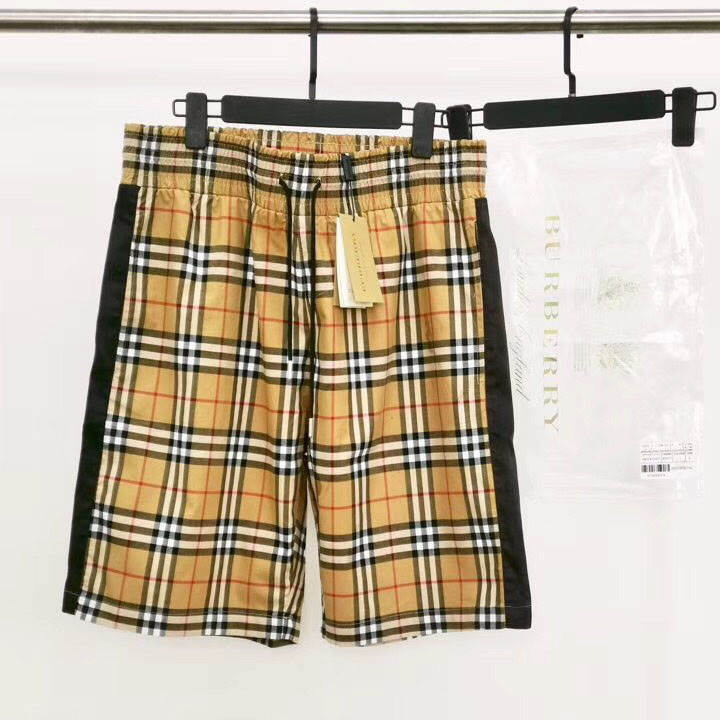 Vintage Check Drawstring Shorts - FashionBeast