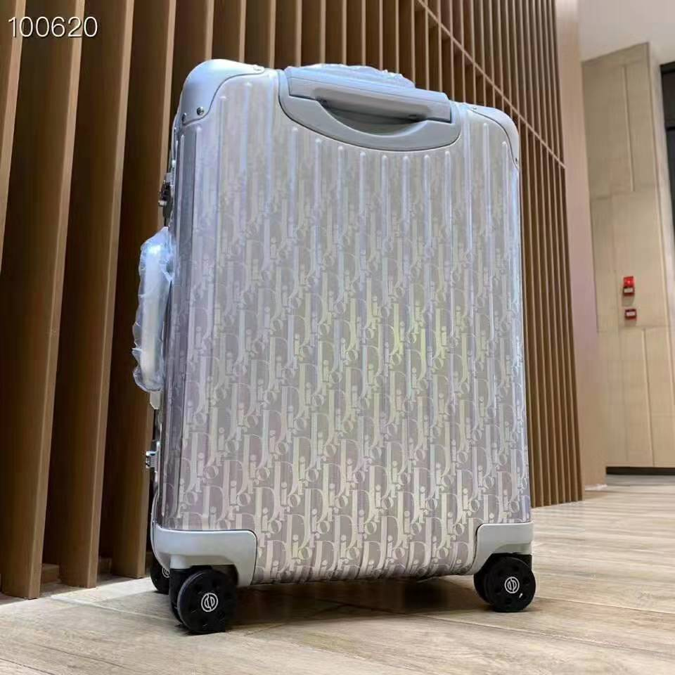 Silver Luggage - FashionBeast