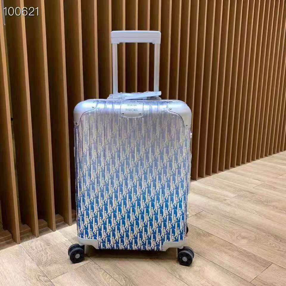Light Blue Luggage - FashionBeast