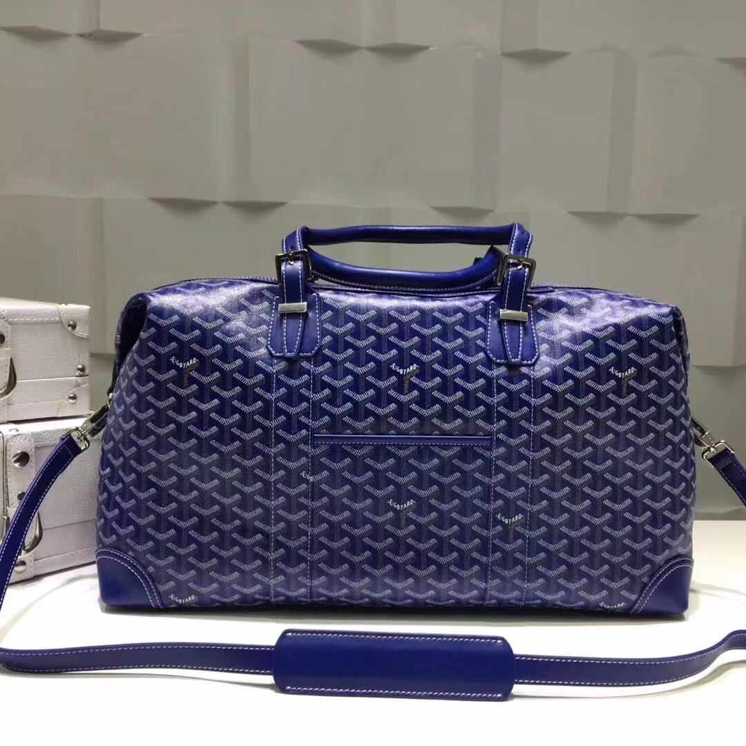 Luggage Boeing Travelling Bag Blue - FashionBeast