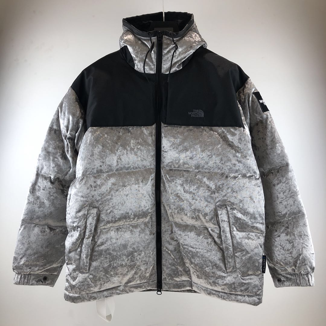 Grey Down Jacket - FashionBeast