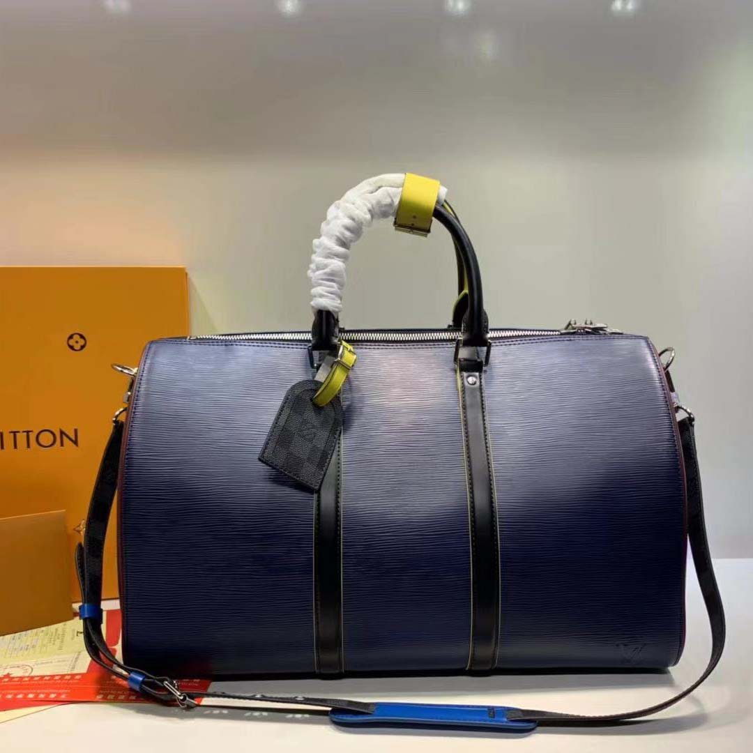 Louis Vuitton Keepall Bandouliere 50 Duffle Bag  - FashionBeast
