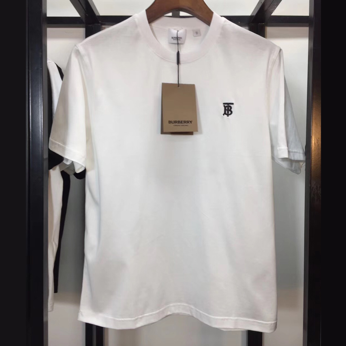 Burberry Monogram Motif Cotton T-shirt White - FashionBeast