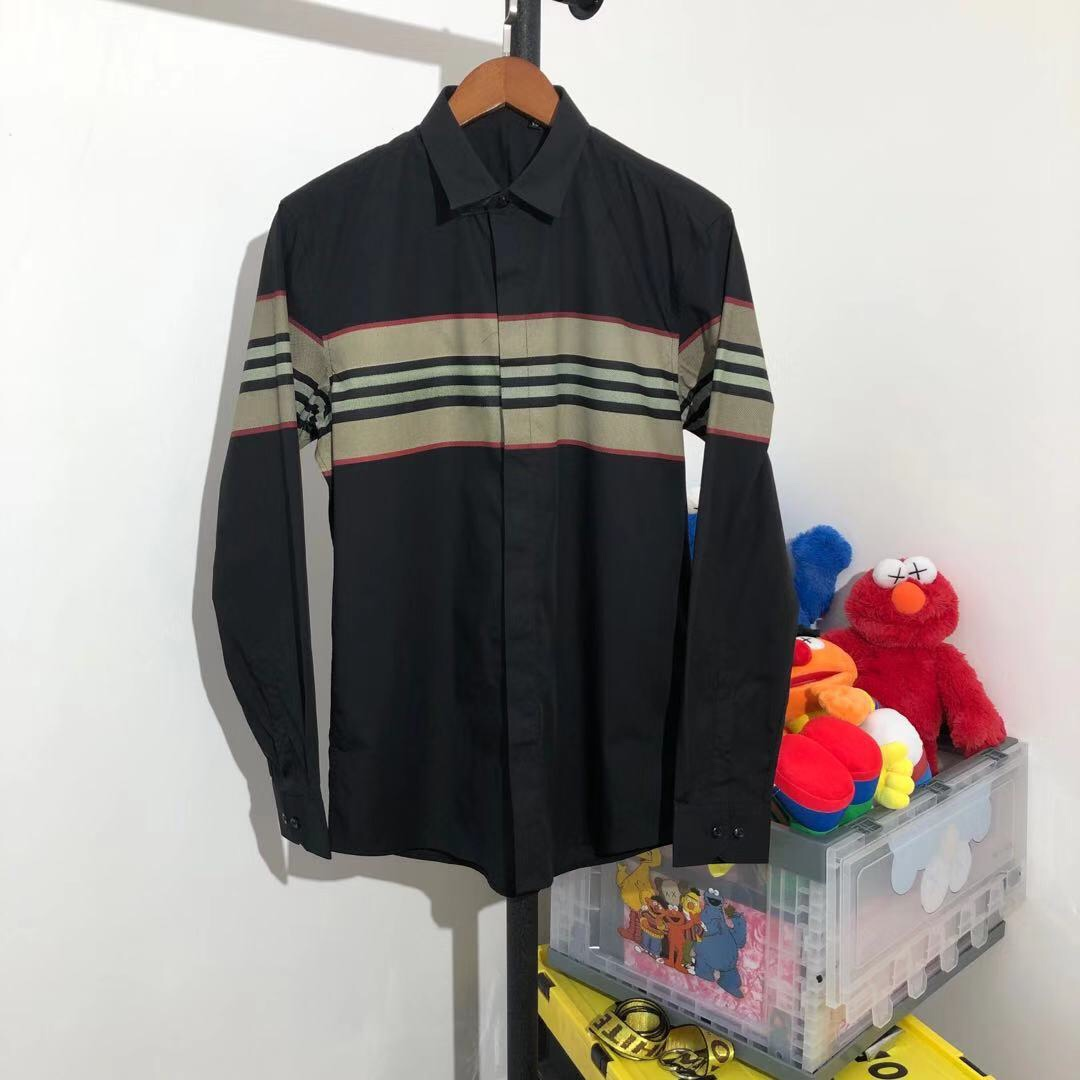 Burberry Stripe Patchwork Shirt - FashionBeast