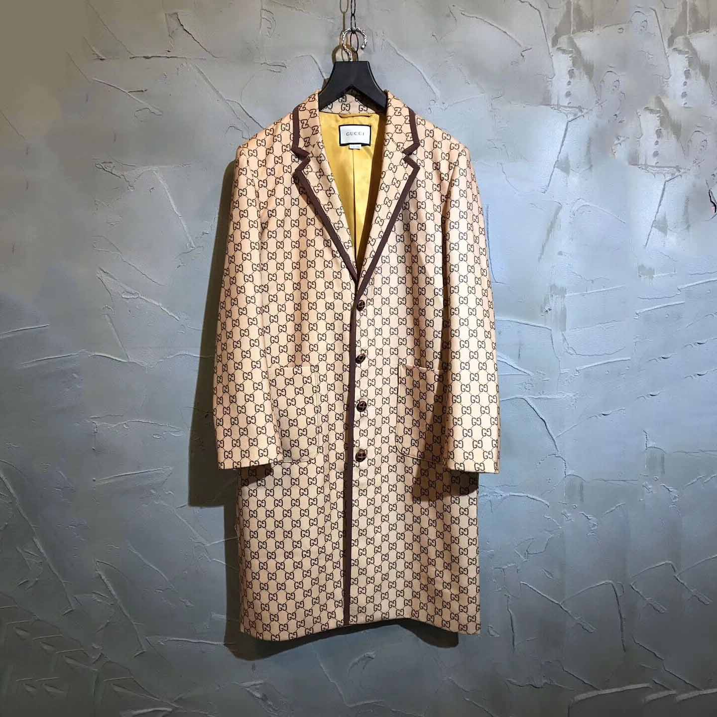 Gucci Long GG Canvas Jacket Suits - FashionBeast