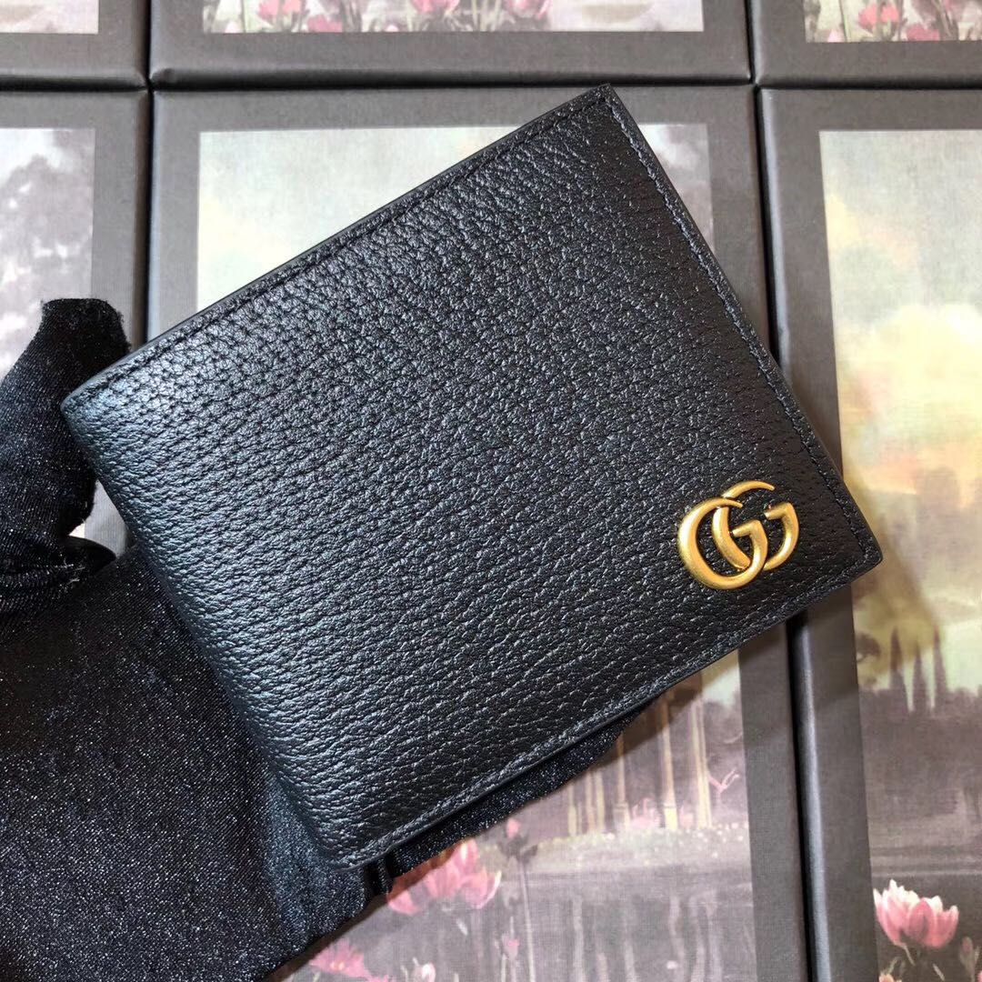 Wallet with Interlocking G - FashionBeast
