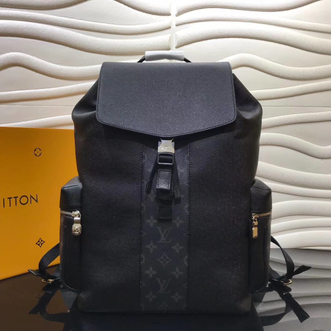 Monogram Black Backpack Bag - FashionBeast