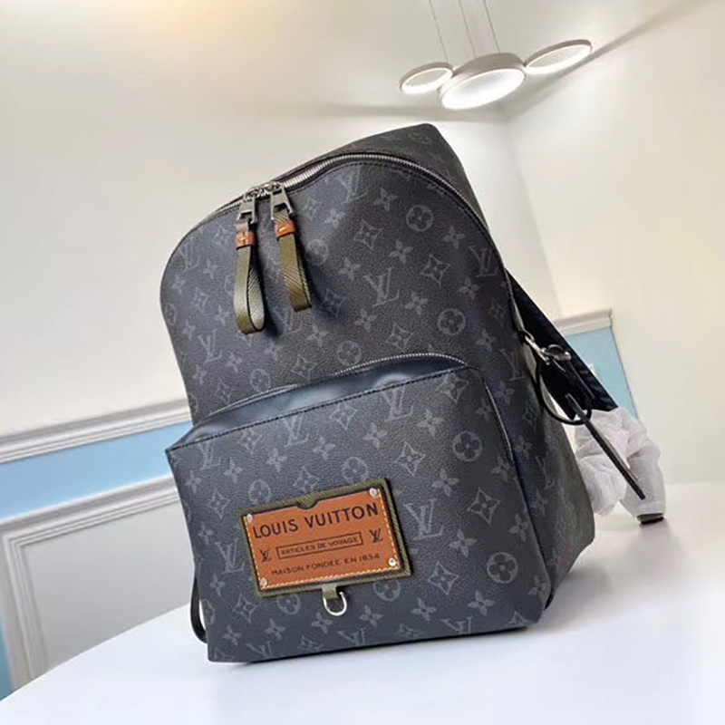 Monogram Eclipse Canvas Backpack Bag - FashionBeast
