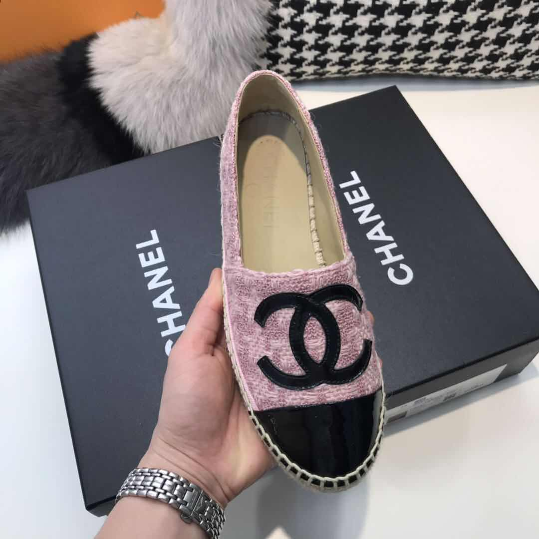 Espadrille with Logo - FashionBeast