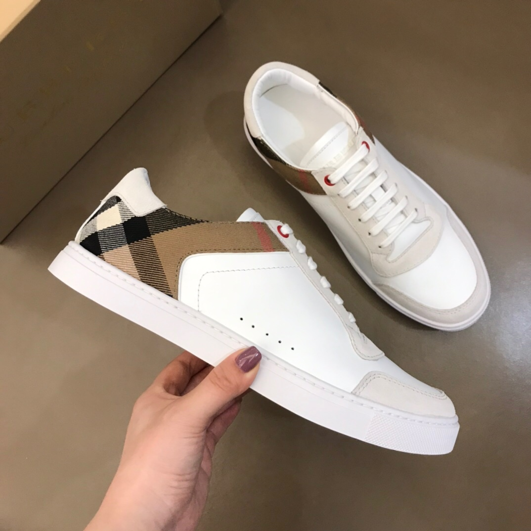 Burberry Sneakers in White - FashionBeast