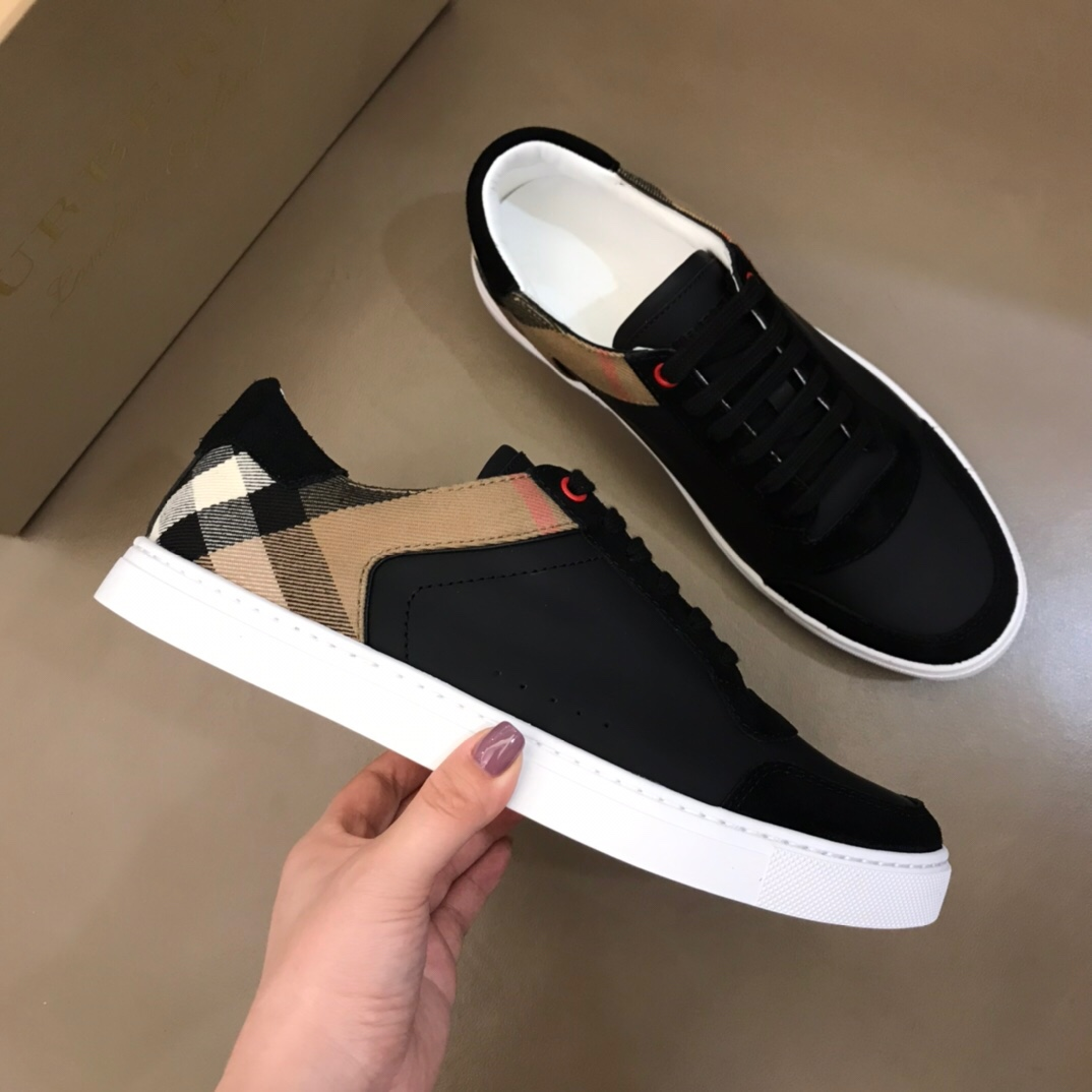 Burberry Sneakers in Black - FashionBeast