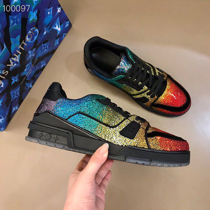 Louis Vuitton LV Trainer Sneaker - FashionBeast