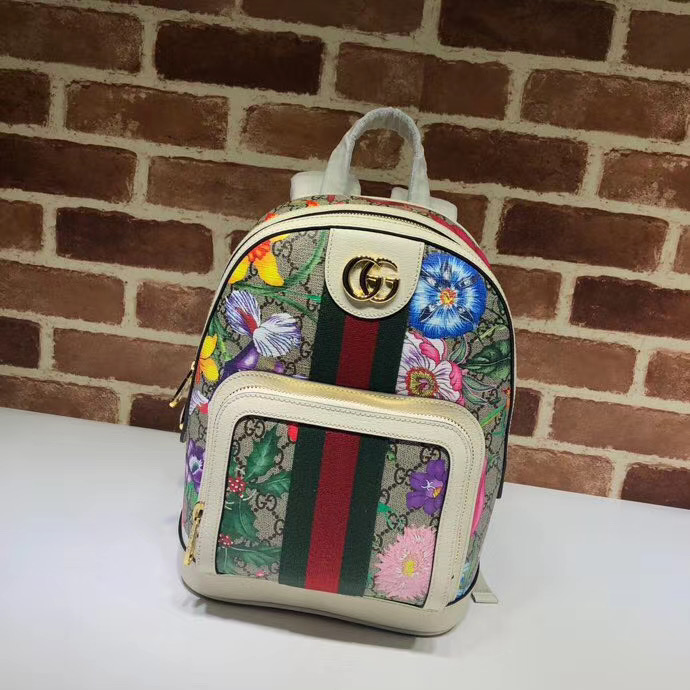 GG Flower Backpack - FashionBeast