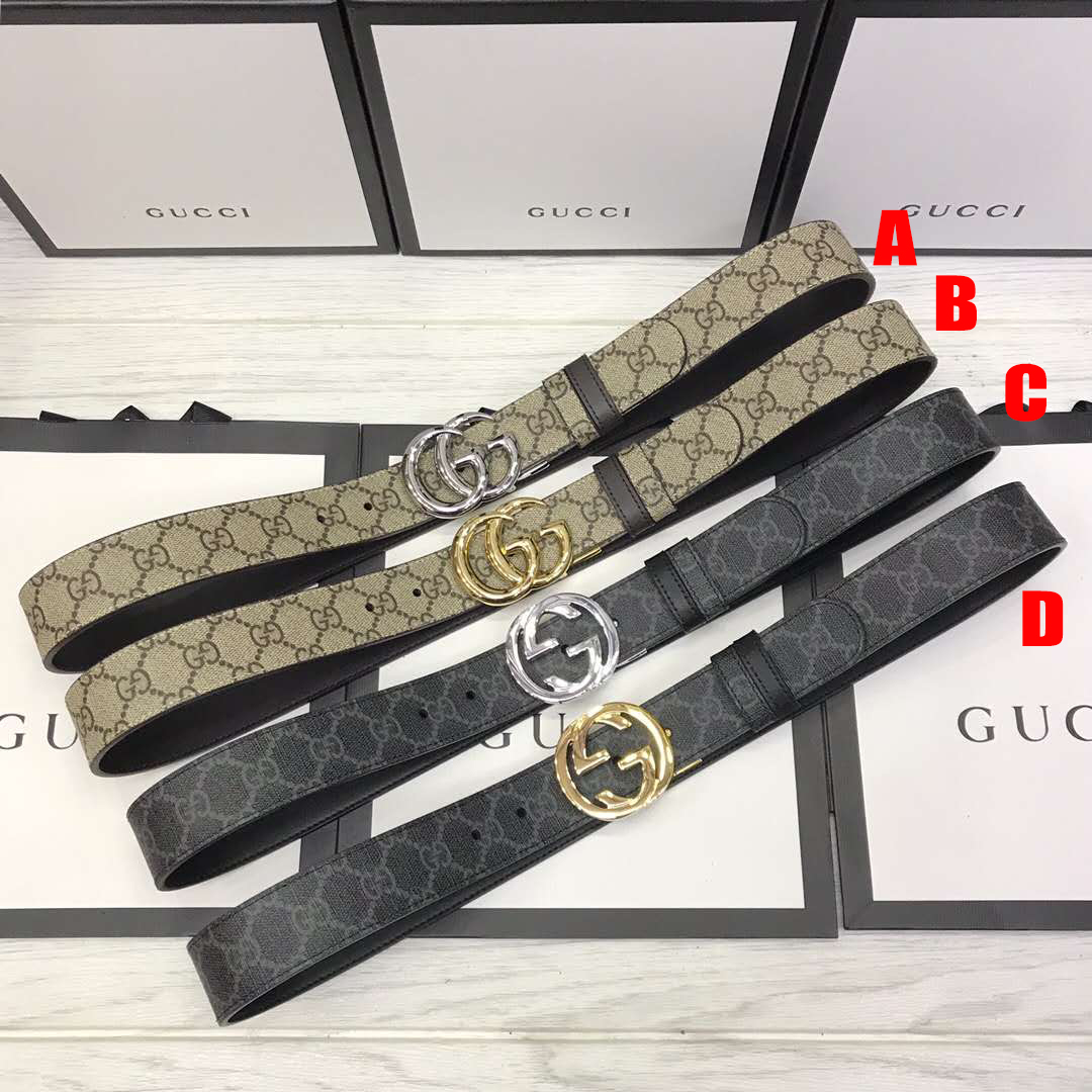 GG Belt with Double G Buckle - FashionBeast