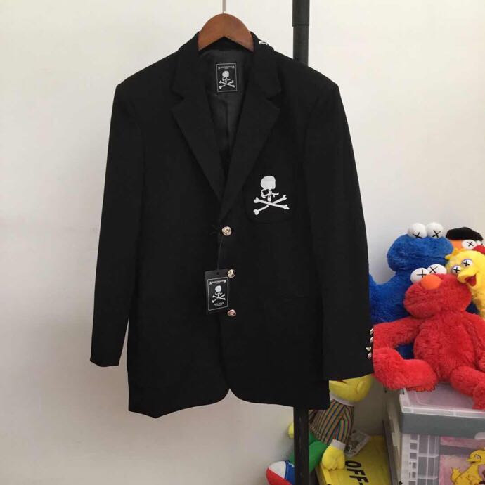 Skull Embroidered Suit - FashionBeast