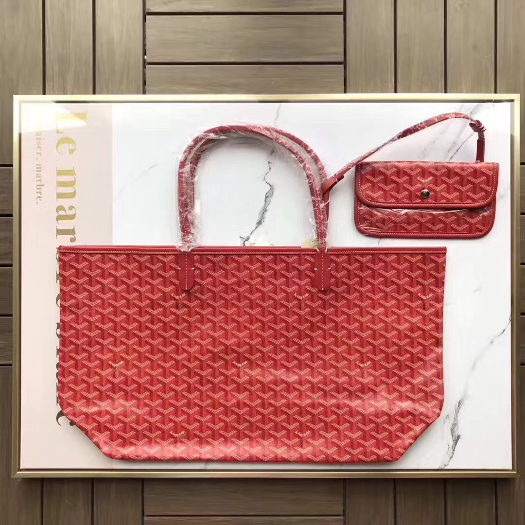 Saint Louis PM Handbag Red Tote Bag - FashionBeast
