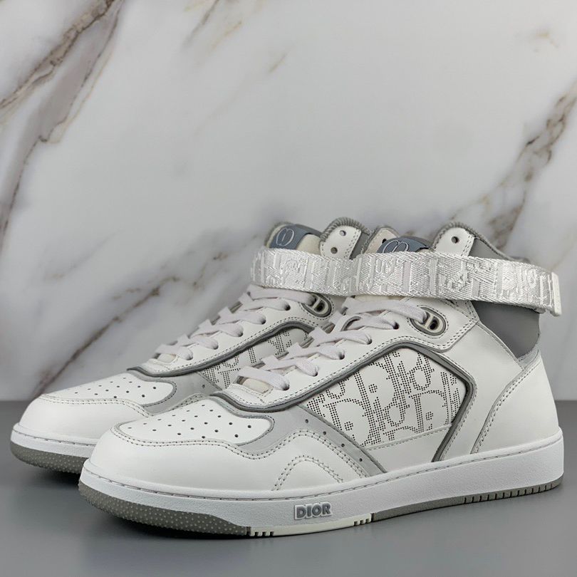 Oblique High Top Sneaker - FashionBeast