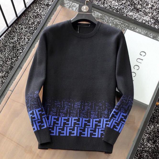 Girocollo Degrade FF Knitted Sweatshirt - FashionBeast