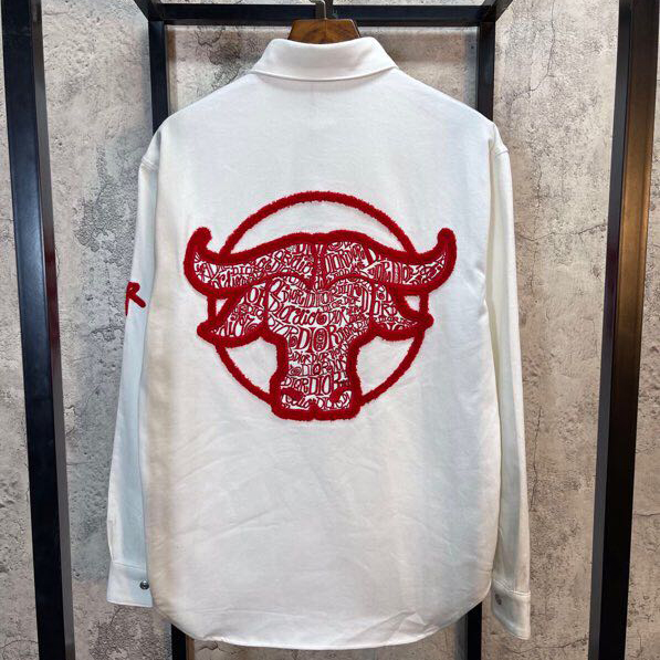 Shawn Stussy Chinese New Year Ox Denim Shirt - FashionBeast