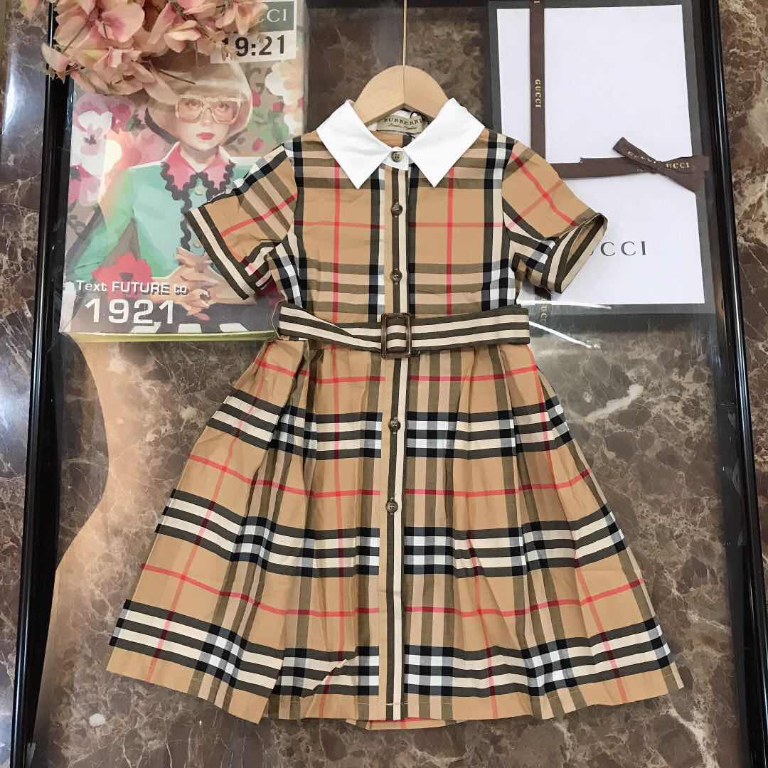 Vintage Check Kids Dress - FashionBeast