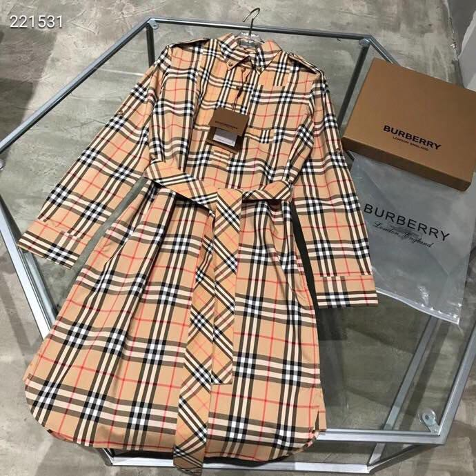 Vintage Check Tie-waist Shirt Dress - FashionBeast