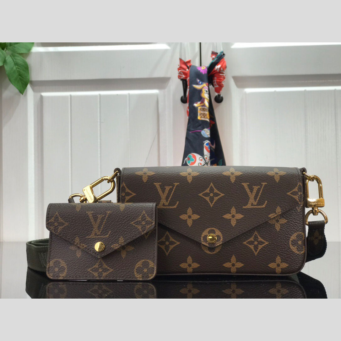 Monogram Shoulder Bag - FashionBeast