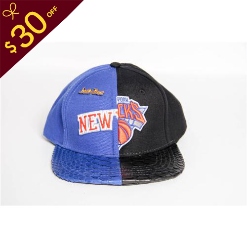 $30 Off Mitchell & Ness Official Snakeskin Cap with Black Color - FashionBeast