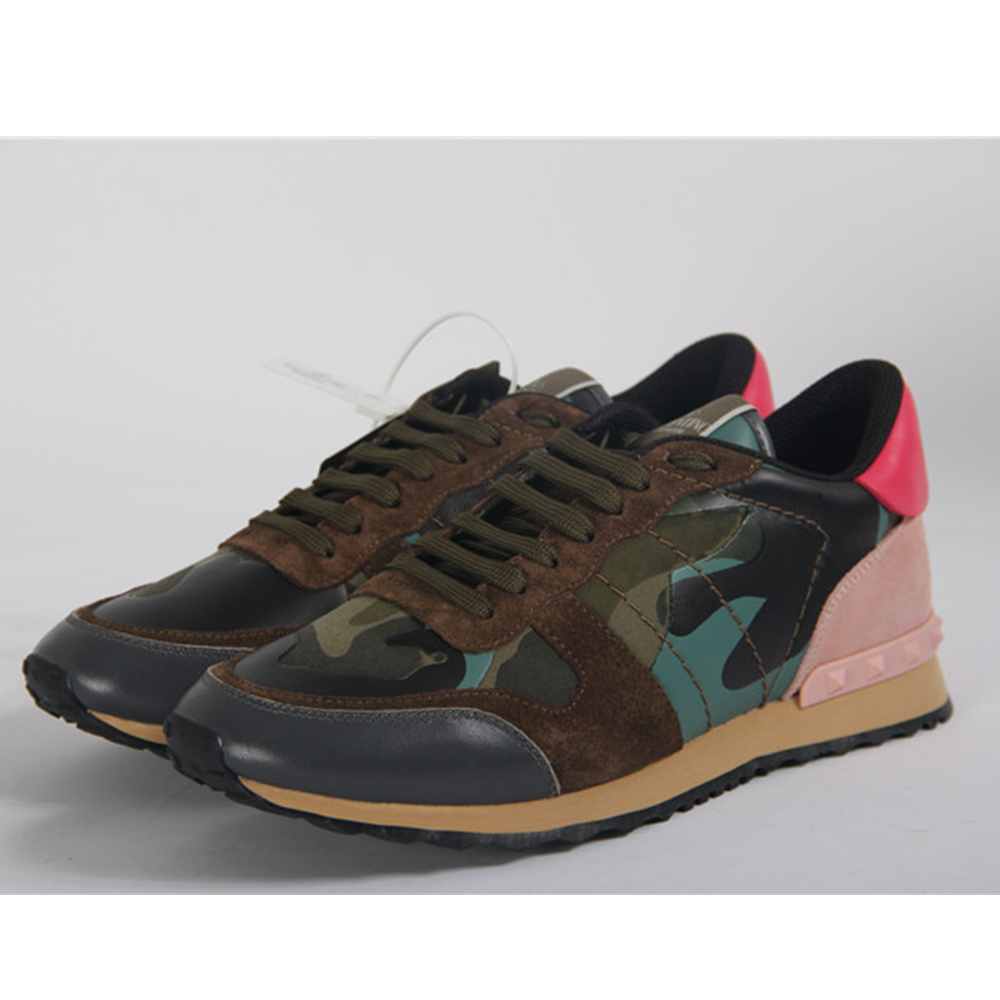Brown Camouflage Rockrunner Sneakers - FashionBeast