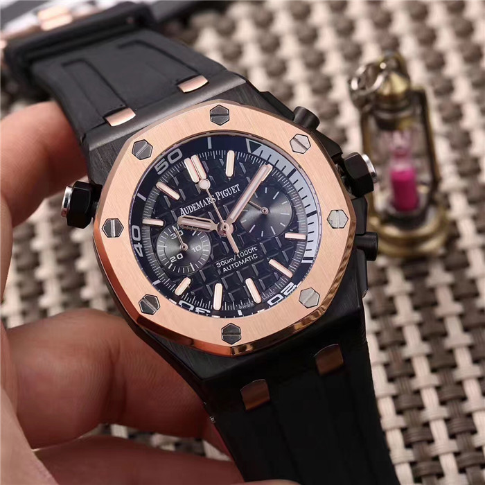 Audemars Piguet Royal Oak Offshore Jewelly Men Black Watch - FashionBeast