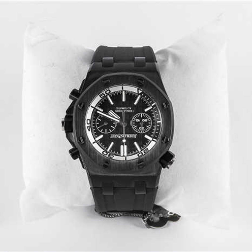 Audemars Piguet Royal Oak Offshore Jewelly Men All Black Watch - FashionBeast