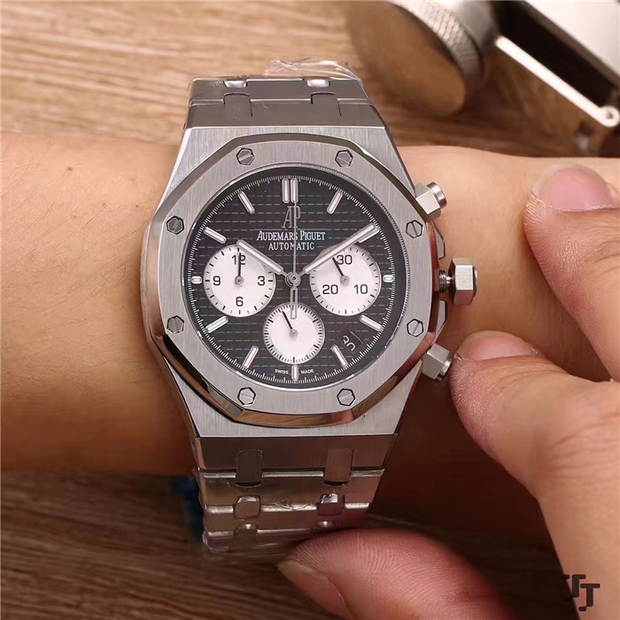 Audemars Piguet Royal Oak Offshore Jewelly Men Metal Strap Watch - FashionBeast