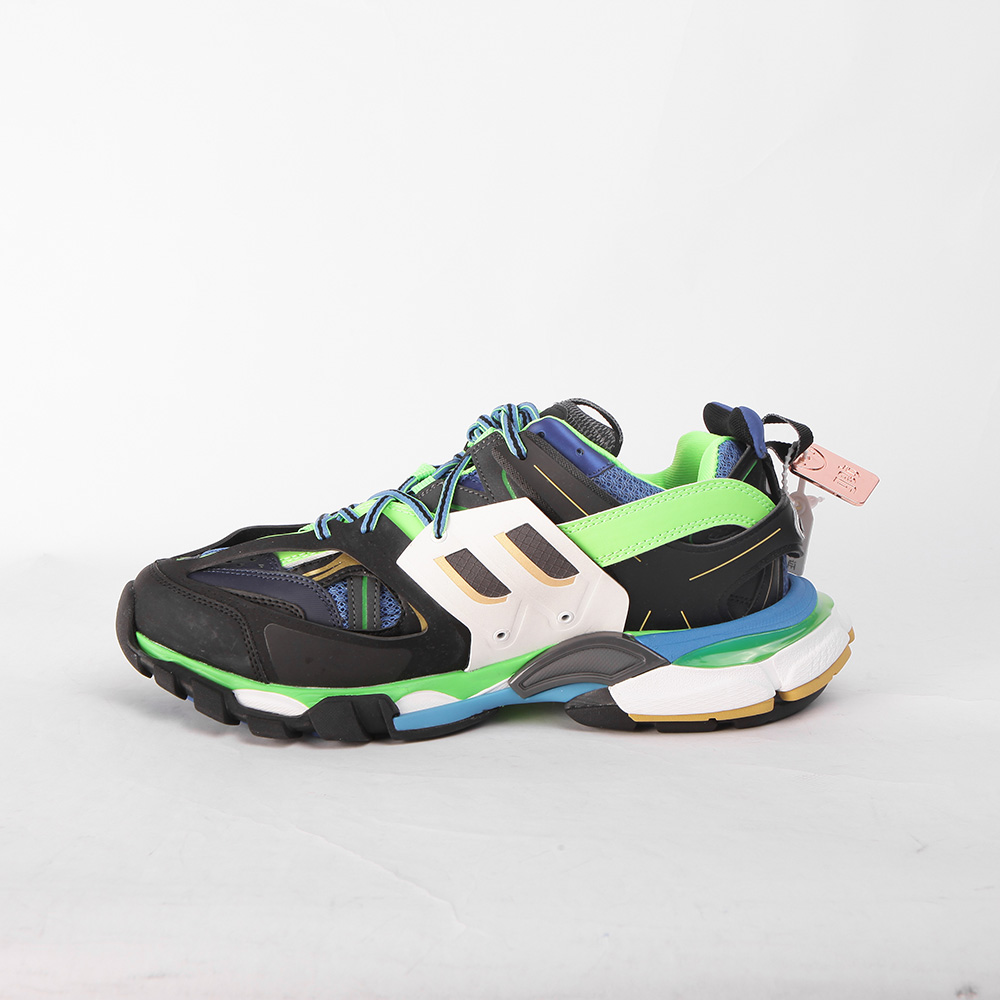 Track 2 Sneaker WHiTE GREEN PiNK for Women Balenciaga