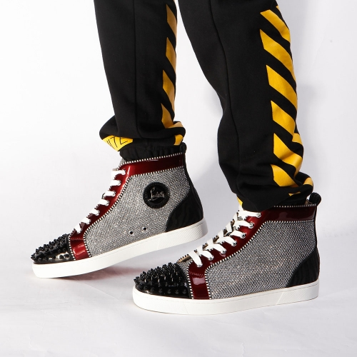Limited quality Christian Louboutin Louis Orlato Sneaker - FashionBeast