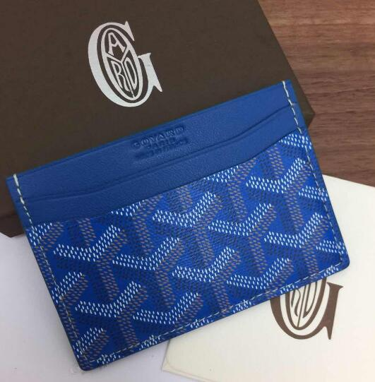 Card Holder Blue - FashionBeast