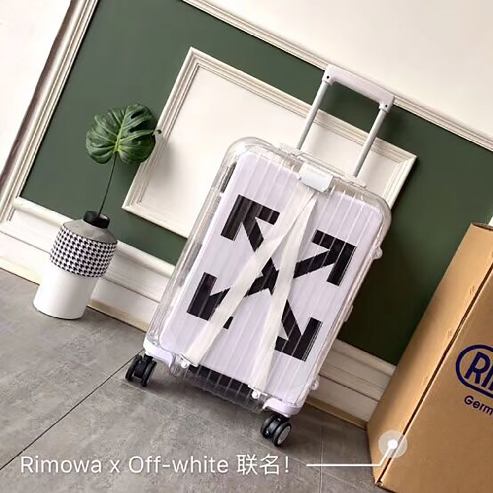 Off-White x Rimowa Limited Version Boarding Case 20 Inch(White) - FashionBeast