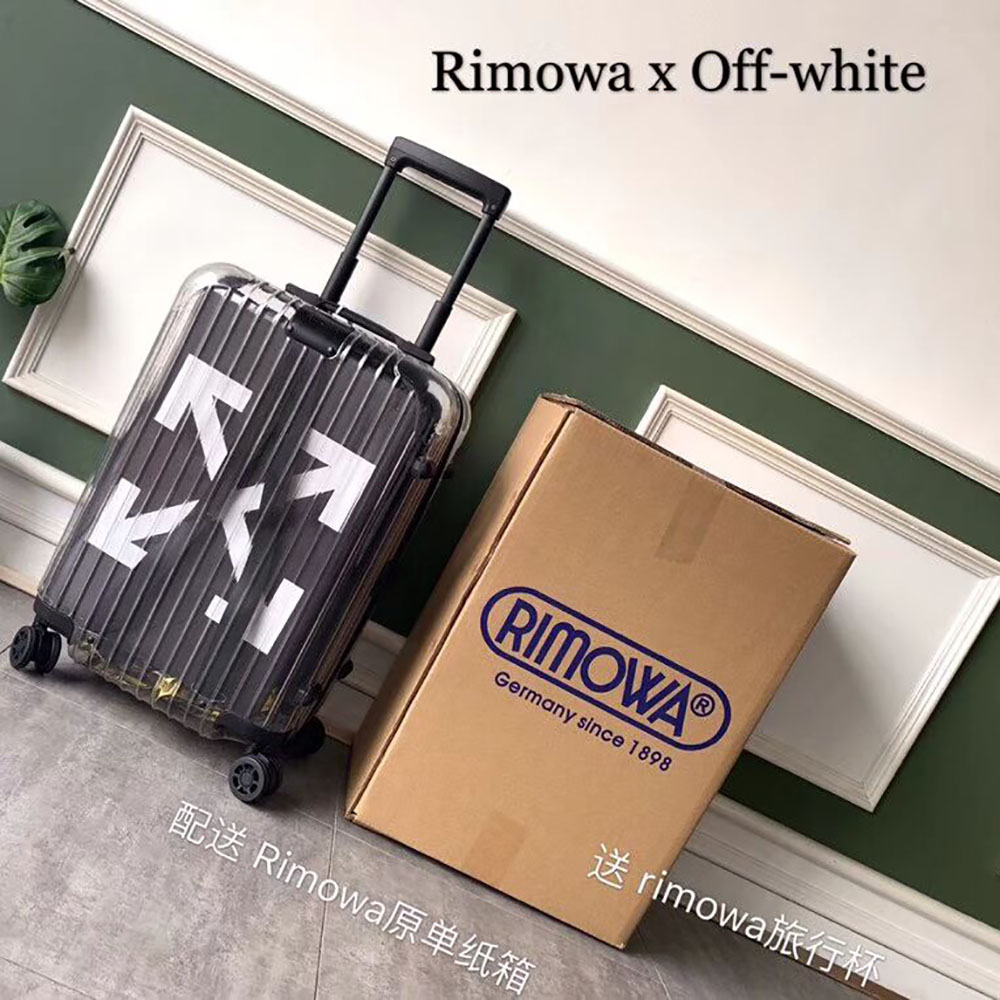 Off-White x Rimowa Limited Version Boarding Case 20 Inch(Black) - FashionBeast