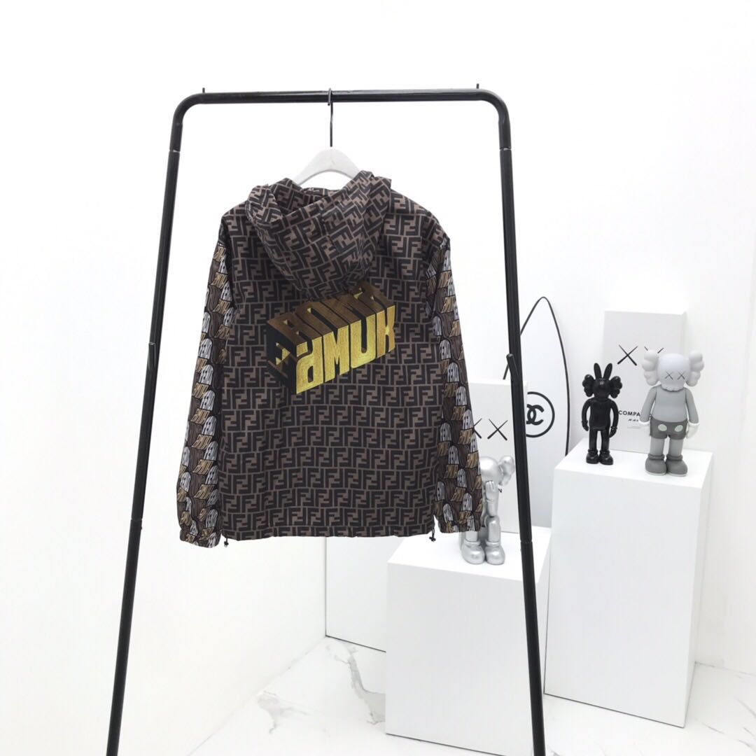 Fendi Roma Amor Windbreaker - FashionBeast
