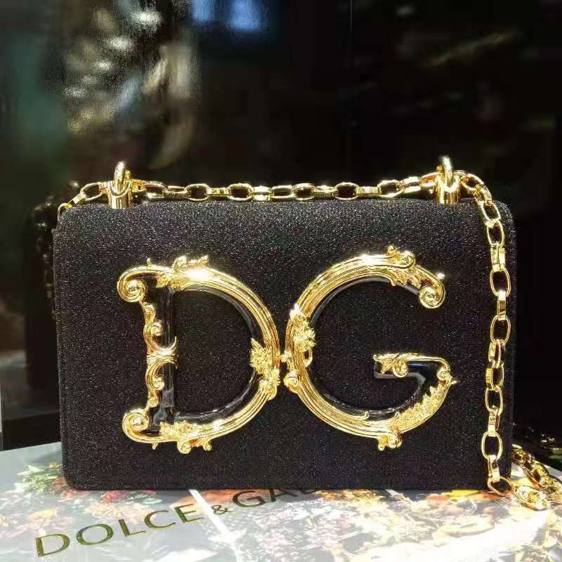 Dolce & Gabbana Black Shoulder Bag - FashionBeast