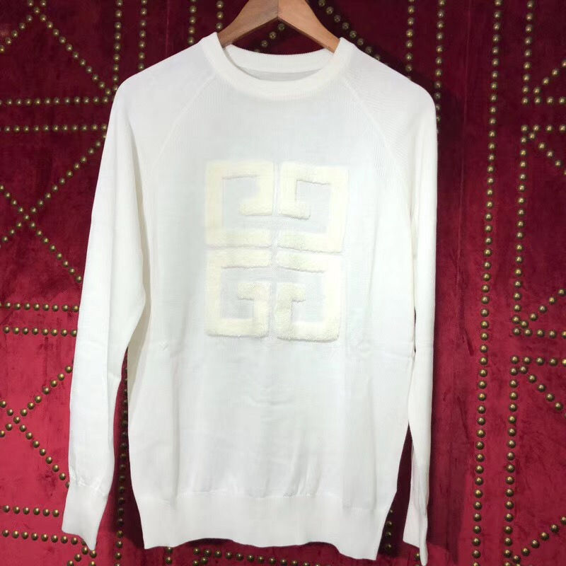 Givenchy 4G Sweater in White - FashionBeast