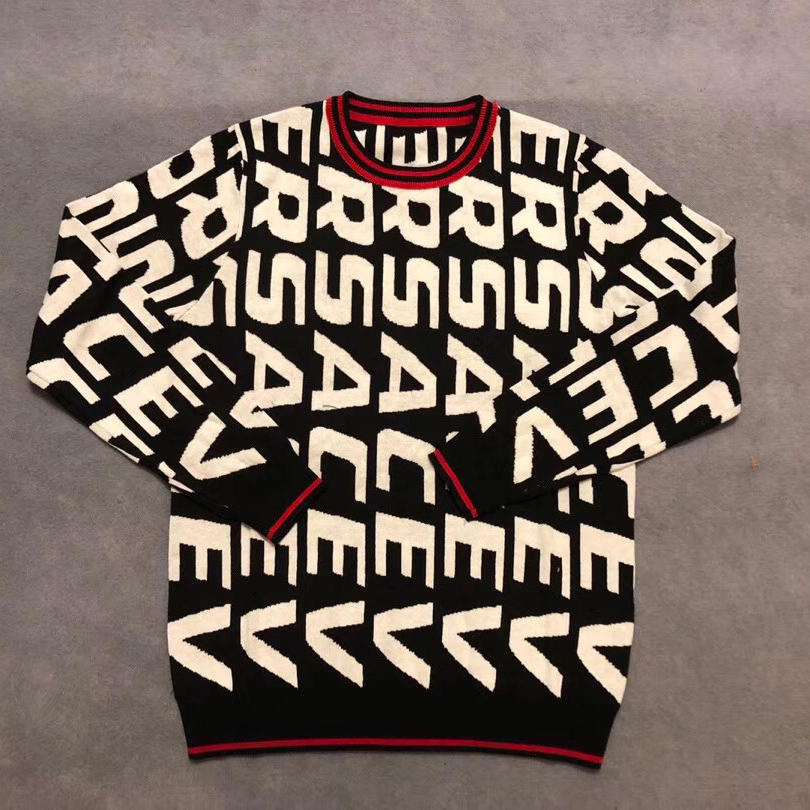 Versace Speed Logo Wool Sweater  - FashionBeast