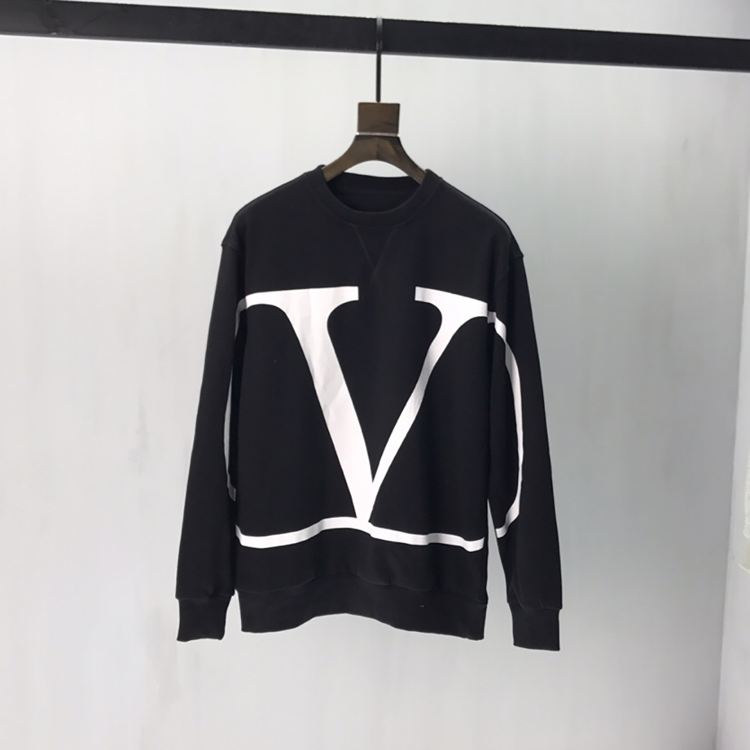 Valentino VLOGO Sweatshirt in Black - FashionBeast