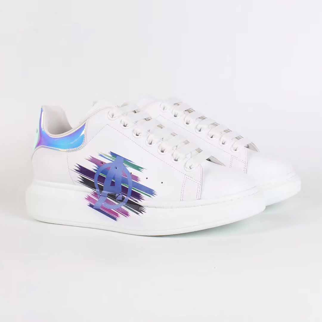 Alexander McQueen White Sneakers with A logo - FashionBeast
