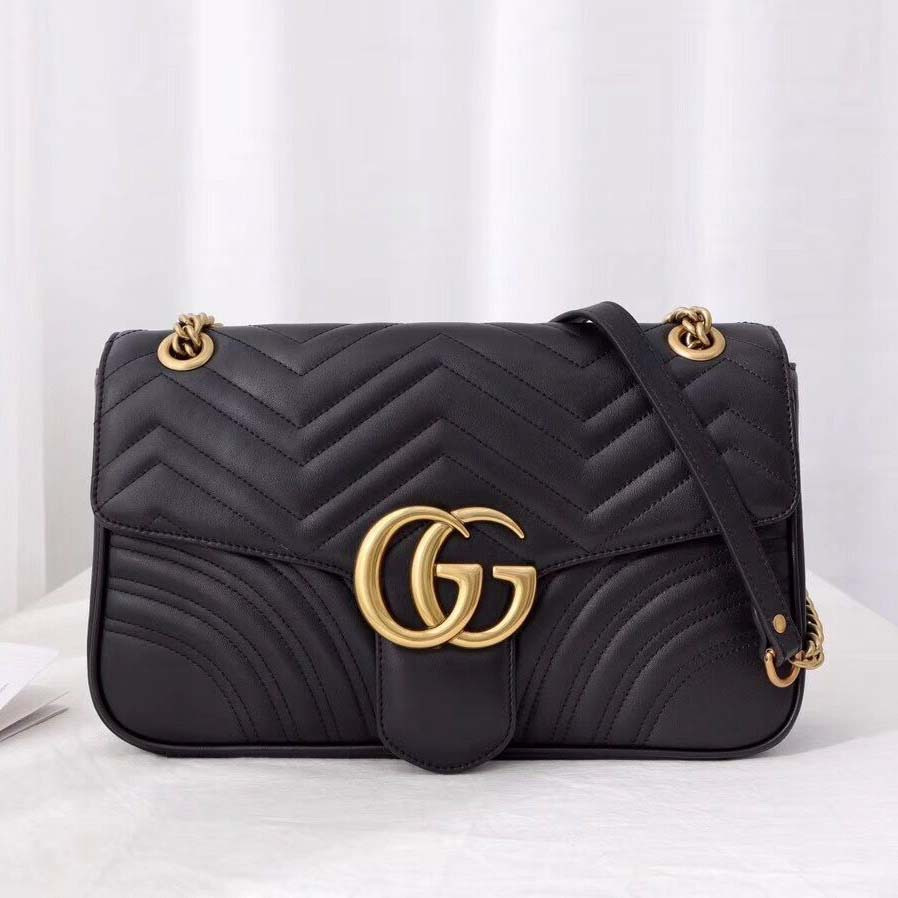 Gucci GG Marmont Medium Matelasse Shoulder Bag  - FashionBeast